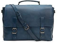 Frye Men's Logan Leather Flap Briefcase