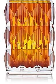 Baccarat Louxor Vase - Amber