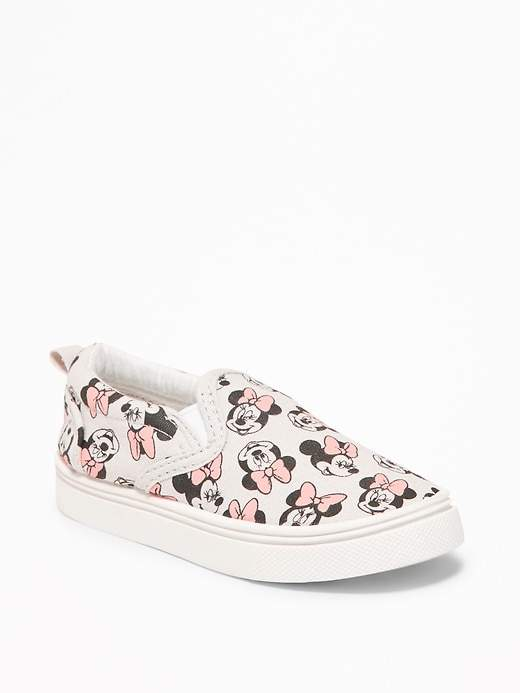 Disney© Minnie Mouse Slip-Ons for Toddler Girls