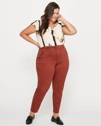 Petite Slightly Curvy Fit Slim Leg Cargo Jean - d/C JEANS