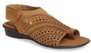Women's Sesto Meucci Elax Perforated Sandal $174.95 thestylecure.com