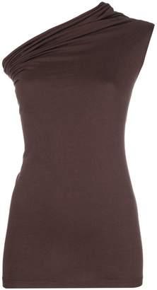 Rick Owens one-shoulder tank top