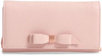 Ted Baker Alaine Crossbody Leather Matinee Wallet on a Chain
