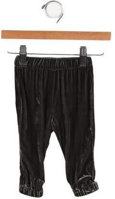 Little Marc Jacobs Girls' Velvet Pants