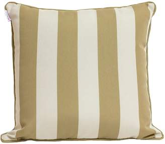Indo Soul Indosoul Striped Outdoor Cushion, Beige, White