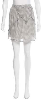 Surface to Air Silk Mini Skirt