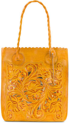 Patricia Nash Burnished Tooled Cavo Tote