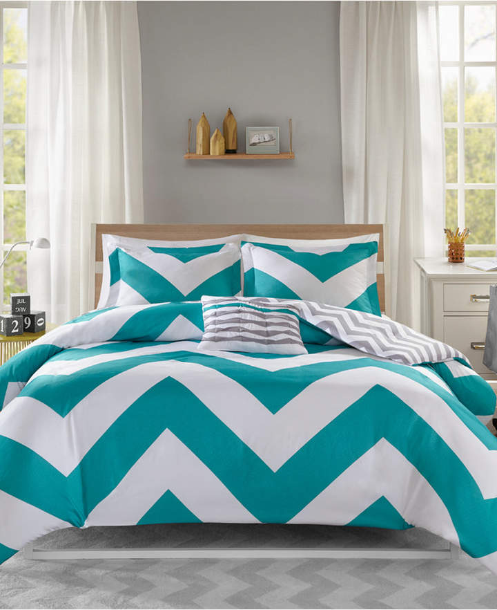 Mi Zone Libra Reversible 4-Pc. King/California King Duvet Cover Set Bedding