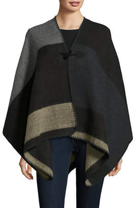 Collection 18 Colourblocked Toggle-Front Ruana