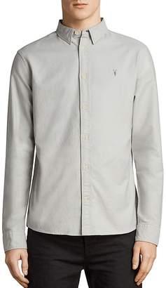 AllSaints Huntingdon Slim Fit Button-Down Shirt