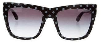 Dolce & Gabbana Polka Dot Gradient Sunglasses