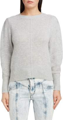 Isabel Marant Puff Sleeve Cashmere Sweater