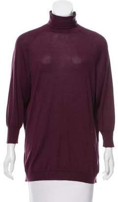 Acne Studios Silk Turtleneck Sweater