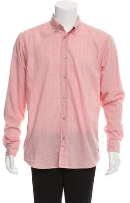 Zegna Sport Gingham Button-Up Shirt