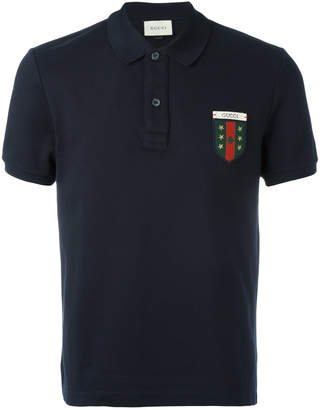Gucci Web crest polo shirt