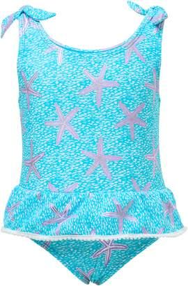 Snapper Rock Aqua Starfish One-Piece Swimsuit