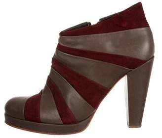 Rachel Comey Colorblock Ankle Boots