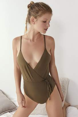 Out From Under Adelaide Wrap Bodysuit