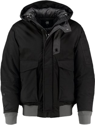 g star gstar expedic hdd bomber winter jacket black. Black Bedroom Furniture Sets. Home Design Ideas