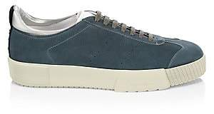 Giorgio Armani Men's Suede Lace-Up Sneakers
