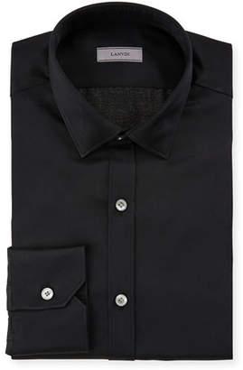 Lanvin Men's Slim-Fit Serge Metallic Dress Shirt