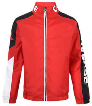 Boys' Sports Bomber Jacket, Red