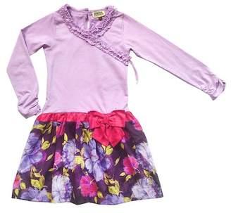 Sophie Catalou Twofer Drop Waist Dress (Toddler, Little Girls, & Big Girls)