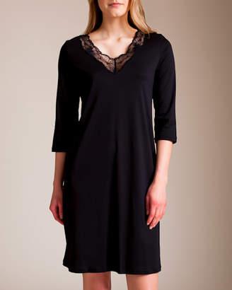 Hanro Valencia Sleeve Gown