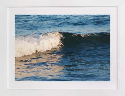 Portrait of a Wave Art Print
