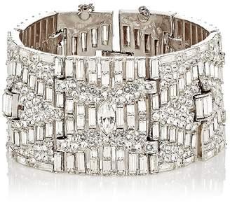 Stazia Loren Women's Diamanté Rectangular-Link Bracelet