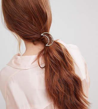 Orelia open moon hair clip