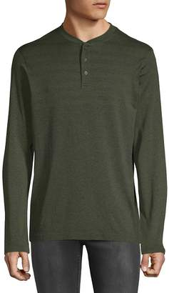 Hawke & Co Men's Seamless Long-Sleeve Henley