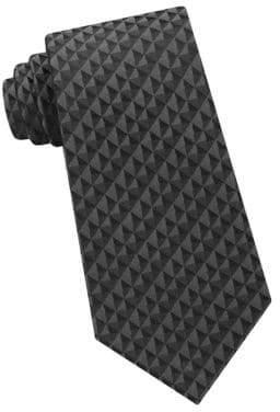Calvin Klein Optic Geo Silk Tie
