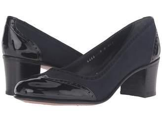 Gravati Chunky Wingtip w/ Patent Toe Heel