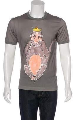 Dolce & Gabbana Printed Short Sleeve T-Shirt