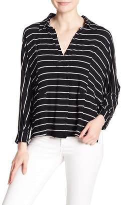 Free People Striped Can't Fool Me Hi-Lo Top