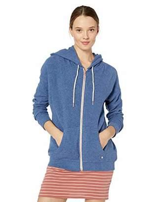 Volcom Junior's Womens Lil Zip Up Hooded Fleece Sweatshirt