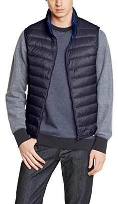 Benetton Men's Puffa Quilted Sleeveless Gilet,(Manufacturer Size:42)