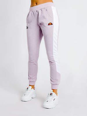 Ellesse New Nervetti Track Pants In Misty Lilac White Womens Pants & Leggings