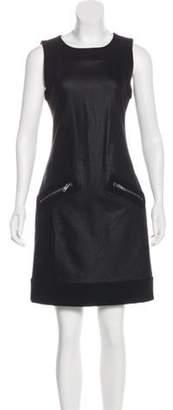Diane von Furstenberg Sleeveless Jerry Lee Dress Black Sleeveless Jerry Lee Dress