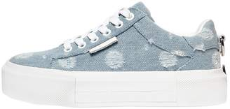 KENDALL + KYLIE 45mm Tyler Ripped Denim Sneakers
