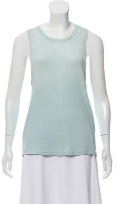 RE/DONE Sleeveless Crew Neck Top w/ Tags