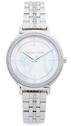 Michael Kors Cinthia Watch $250 thestylecure.com