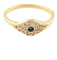 Jacquie Aiche Pave Diamond Eye Ring