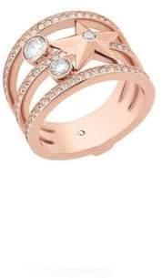 Michael Kors Celestial Crystal Star Ring