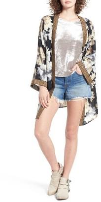 Women's Mimi Chica Floral Print Kimono $49 thestylecure.com