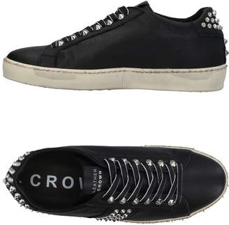 Leather Crown Low-tops & sneakers - Item 11462611BF