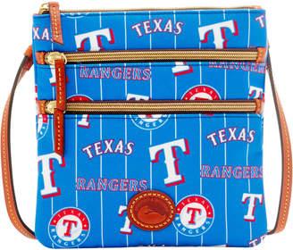 Dooney & Bourke MLB Rangers Triple Zip Crossbody