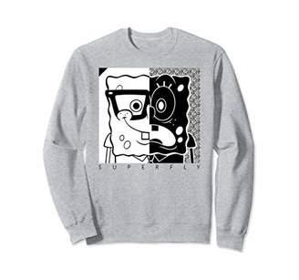 Nickelodeon Spongebob Squarepants Superfly and white Sweatshirt