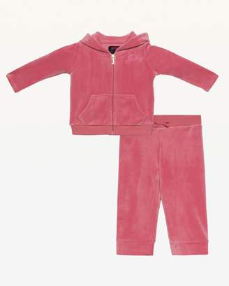 Couture Juicy CoutureJuicy Ultra Luxe Velour Track Set for Baby